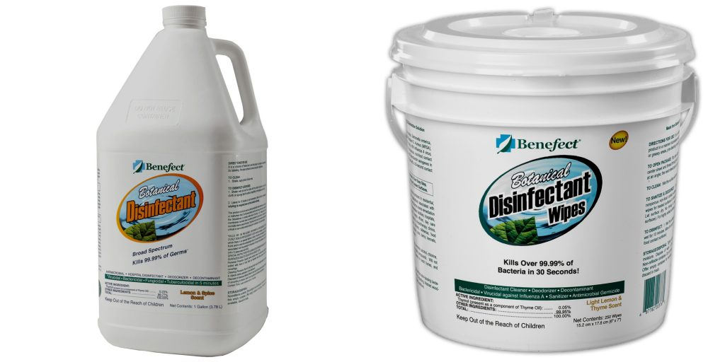 Broad Spectrum Disinfectant Products